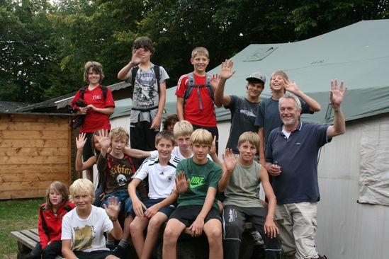 Die Jugendlichen Teilnehmer aus Mühlheim